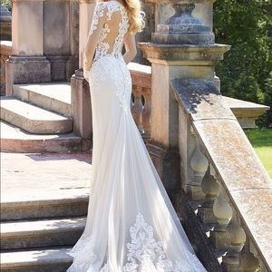 Mori Lee Wedding Dress 2027 Ivory/Almond
